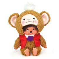 Monchhichi S Size Plush 2016 Year of the Monkey with Bean Bag Heart Pat Pat 201600