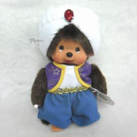 233440 Sekiguchi Monchhichi S Size Plush MCC Arabian Night Boy