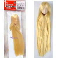 27HD-F01WC18 Obitsu 1/6 Doll White Head 01 Long Rooted Hair Gold