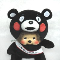 760900 Japan Limited MCC Sekiguchi Monchhichi Kumamon Black Bear