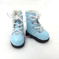 1/6 Bjd Neo B Doll Shoes Boots Blue SHP002BLE