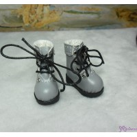 1/6 Bjd Neo B Doll Shoes Boots Grey SHP002GRY