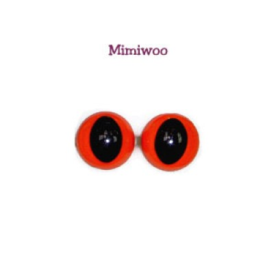 15mm Cat Eye Orange C15-41A