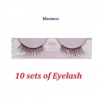 BJD DIY Material Craft 1/3 SD 1/4 MSD OB 60cm Doll Eyelash BLACK (Set of 10) EL01-BK x 10