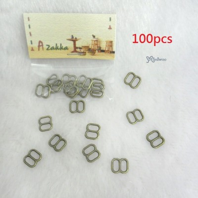 NDA050SXCPR Doll Dress DIY 8x8mm Metal Buckle Copper 100pcs
