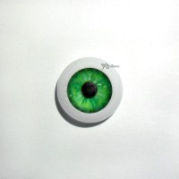 GF08A03M 1/6 Bjd Doll Eye 8mm Dark Green