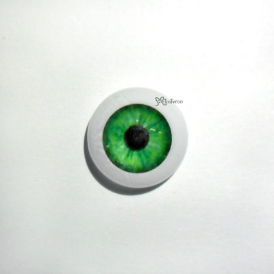 GF16A03M 1/4 Bjd Doll Acrylic Eye 16mm- Dark Green