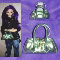 KSA003 1/3 Bjd Doll Hand Bag - Stylish Shiny