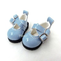 1/6 Bjd Doll Cross Strap Shoes Blue LYS002BLE