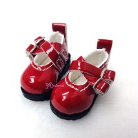 1/6 Bjd Doll Cross Strap Shoes Red LYS002RED