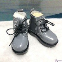 SHM049GRY MSD Bjd Obitsu 60cm Doll Boots High Hill Shoes Grey