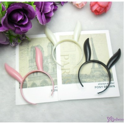 1/6 Bjd Doll Miniature Mini Bunny Ear Black TPS126BBLK