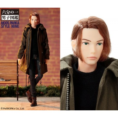 Petworks One-sixth scale Boys & Male Album, Mods Parka, NINE 1019021 ~ PRE-ORDER ~ LAST ONE