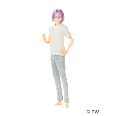 1920071 Petworks 1/6 Boys & Male Album B2010 EIGHT Shiny Purple x Silver Hair ~ NEW ~ LAST
