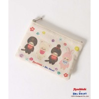 Monchhichi x Bleu Bleuet Purse Coinbag w Tissue Bag MCC Friend Chimutan 130750a