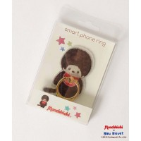 Monchhichi x Bleu Bleuet 9cm Smart Phone Ring MCC Boy iRing 131667a ~ LAST ONE ~