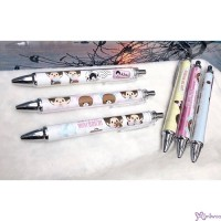 Monchhichi 45th Anniversary Happy Trip Mechanical Pencil (3pcs Set) ~ MADE in JAPAN ~ 166019+26+33