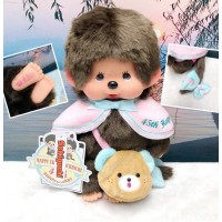 Monchhichi 45th Anniversary Happy Trip M Size Boy 201105