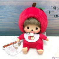 Apple Bebichhichi 14cm Monchhichi Baby Plush Bean Bag Sitting  201259