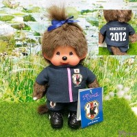 Sekiguchi Monchhichi S Size Football 2012 Samurai Blue Girl 201260 ~ LAST ONE ~