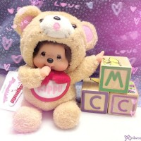 Monchhichi S Size Plush 45th Anniversary Happy Trip KIPPU Bear 201341