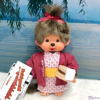 Monchhichi Onsen Hot Spring S Size Plush Girl ~~ NEW ARRIVAL ~~ 201372