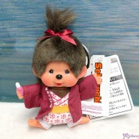Monchhichi Onsen Hot Spring Keychain Mascot 12cm Girl ~ NEW ARRIVAL ~ 201389