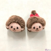 Monchhichi Plush Head 5cm Magnet Boy & Girl (PAIR) 201471+201488