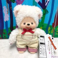201761 Monchhichi Fluffy CHAMUS Chamu Sheep S Size Plush