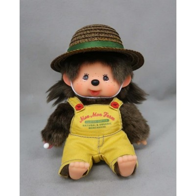 2021 Mon Mon Farm Coffee Monchhichi S Size Girl Plush 201853 ~ PRE-ORDER ~
