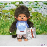 Monchhichi 2010 Dressed - Cat Tank Top Boy Plush 222610