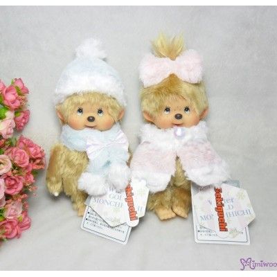 Monchhichi 40th Anniversary MCC Winter Gold Hair Girl 226260