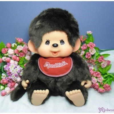 Monchhichi L Size Super Soft Head Premium MCC Sitting Boy 226641