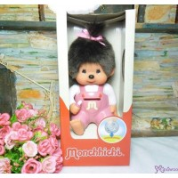 Monchhichi Plastic Money Savings Coin Bank Pink Girl 229895