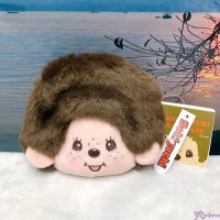 Monchhichi 12 x 13cm Plush Coin Bag Passcase Card Case with Buckle Boy 232550