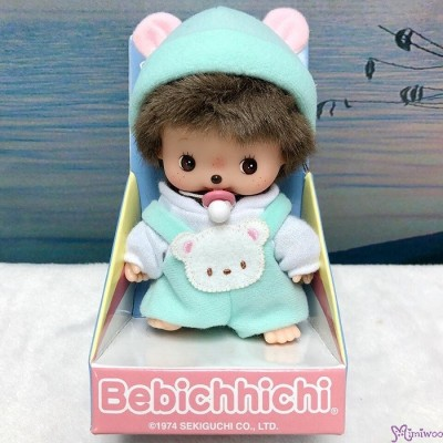 Bebichhichi Sekiguchi  First Animal BBCC Romper Green Bear 235960