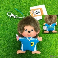 Monchhichi SS Big Head Mascot Keychain Football Club Boy 239500