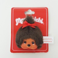 Monchhichi Keychain Face Badge Mascot - MCC Girl 243709