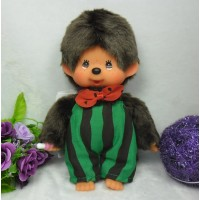"Monchhichi S Size 8"" Plush MCC Watermelon Boy 259960"