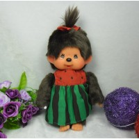 "Monchhichi S Size 8"" Plush MCC Watermelon Girl 259977 ~ LAST ~"