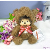 Monchhichi M Size Plush MCC Brown Bear 260584