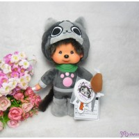 Capcom Monster Hunter x Monchhichi S Size Cat Grey 261468