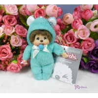 Monchhichi 10cm Plush Birthday Mascot Birth Stone Keychain - December 2682