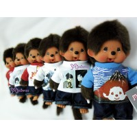 Monchhichi S Size Plush Japanese Tee 6pcs Set 271940+50+60+70+80+90