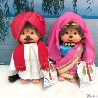 276020+30 Sekiguchi Monchhichi Plush 20cm National Indian Boy & Girl