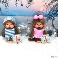 Monchhichi Beach Side Story Swim Suits Boy & Girl with Floaty 295803+295902