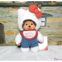 Hello Kitty x Monchhichi S Size Plush Limited 323847 ~ LAST ONE ~