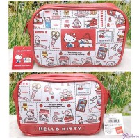 Hello Kitty Hand Bag  18 x 13cm Zipper Bag 460984