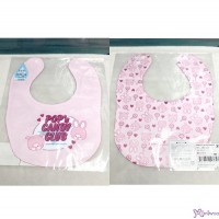 Monchhichi & Chimutan POP'N Candy Club 2-Side Print Baby Bib 23x29cm  (Made in Japan) 478576