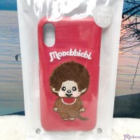 Monchhichi Plastic Phone Case embroidery Cover MMC (for iphone X / XP) 528097